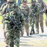 Más militares para el Bajo Cauca