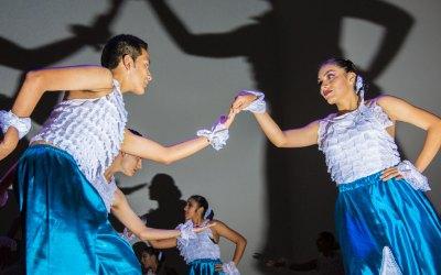 Nuevo grupo de danzas folclóricas de Olaya