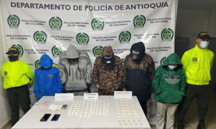 """En La Ceja capturan a cinco integrantes de """"Los Mesa"""""""