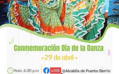 Puerto Berrío conmemora el Día de la Danza
