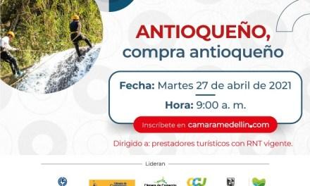 «ANTIOQUEÑO compra antioqueño» una nueva alternativa para el turismo virtual