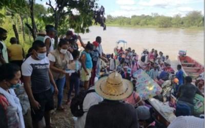 Apoyan a familias desplazadas en el Bajo Cauca