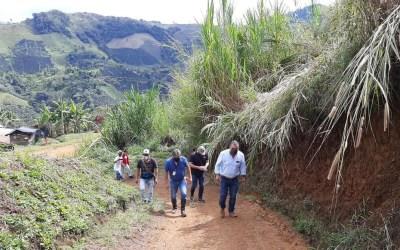 Más mejoras en las vías de Pueblorrico y Andes