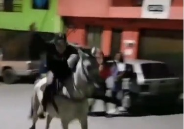 Presunto maltratador de animales en Campamento, Antioquia.