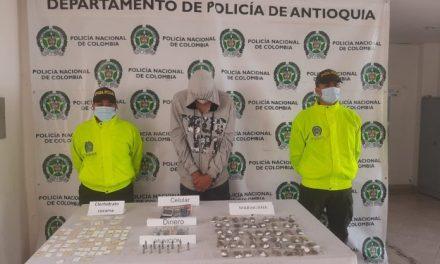 """En La Ceja capturan a un integrante del grupo delincuencial """"Los Mesa"""""""
