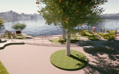 Réplica del Viejo Peñol tendrá un malecón para fortalecer el turismo