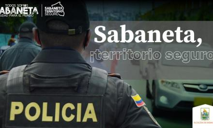 Sabaneta es un territorio seguro