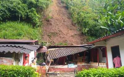 Varios municipios del Oriente reportaron emergencia por la lluvia