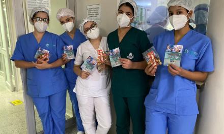 Así celebró el Concejo de Rionegro el Día de los Enfermeros
