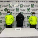 Ocho personas fueron capturadas por distintos delitos en La Ceja