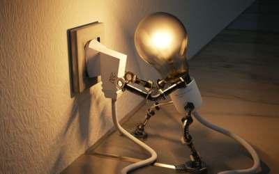 Capacitación sobre energía eléctrica en Giraldo