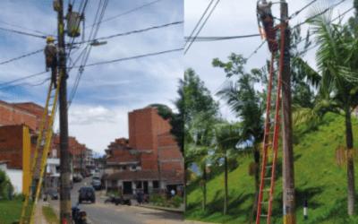 Comenzó la modernización de luminarias LED en El Peñol