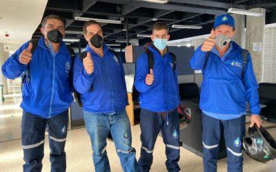 Más de 80 trabajadores de EEPP ya han sido inmunizados contra el COVID-19 en La Ceja