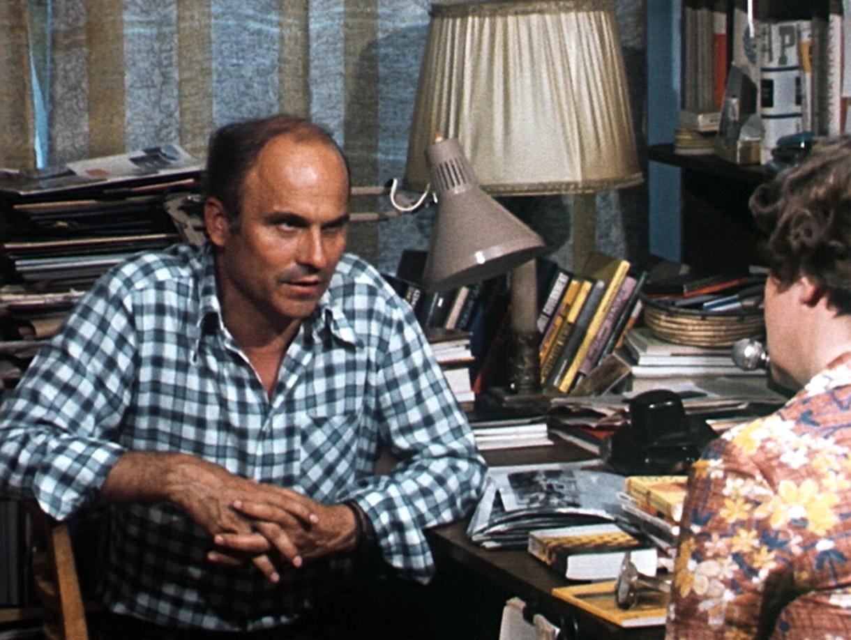 O repórter Kapuscinski em imagem de arquivo.