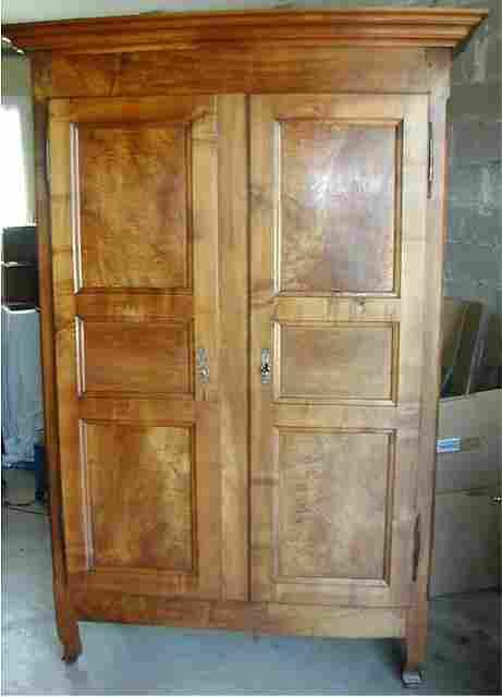 armoires ancienne louis philippe en noyer 4 tiroirs interieur 3 petits et 1 grand