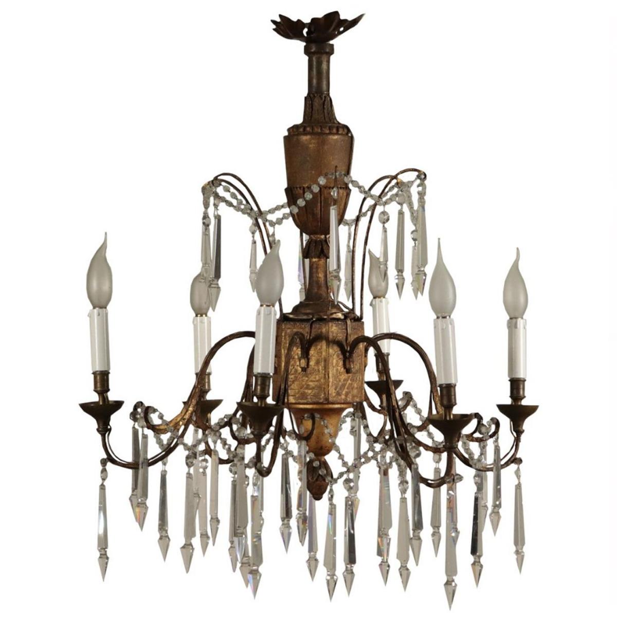Gogna tratta con passione e competenza oggetti antichi e opere d'arte, in italia e nel mondo. Acquisto Lampadari Antichi D Epoca Lampadari Antichi Anche Da Restaurare