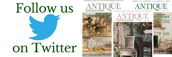 Following Antique Collecting on Twitter