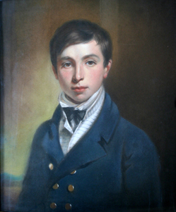 Circle of William Edward Frost (1810-1877), Portrait of Master Pearse, pastels, 23in. x 19in.