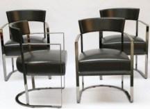eight Italian-made Morgan dining chairs