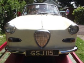 A 1963 Glas Goggomobile TS250 coupe, in restored condition £10,000 - 12,000 at Charterhouse - 4