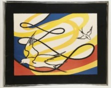 screen-print by Alexander Calder