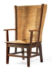 Late 19th century Orkney chair