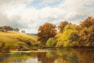 George Turner's 'A Scene at Knowle Hill'