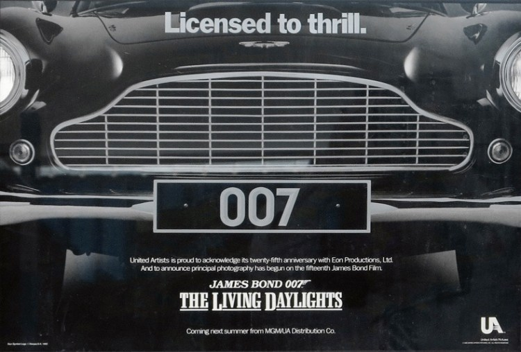 Poster for The Living Daylights