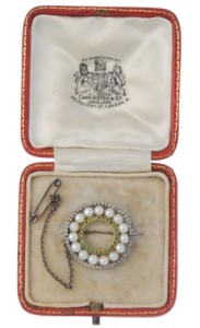 Jewellery in Fellows' auction