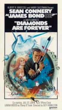 Diamonds Are Forever film poster