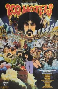 Frank Zappa film poster