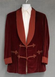 Christopher Lee's velvet jacket