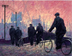 Alexander Millar's The Dawn Chorus, canvas on board, £595, part of a limited edition from Washington Green Fine Art
