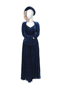 Baroness Thatcher's wedding outfit