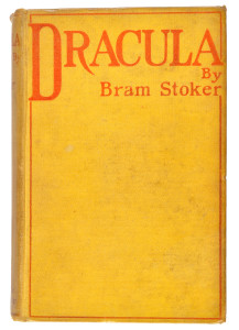 First Edition of Dracula
