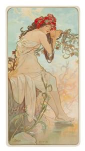 Alphonse Mucha - Summer