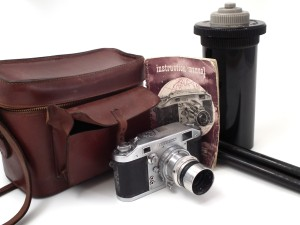 The Ilford Witness camera and associated accessories