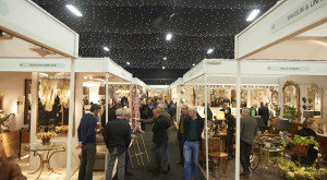 Visitors at this year's Winter Decorative Antiques & Textiles Fair
