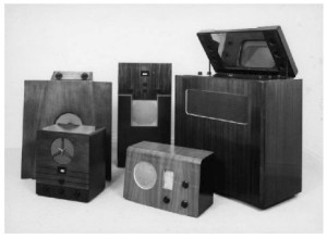 Gordon Russell's Murphy Radio Cabinets and Television Set
