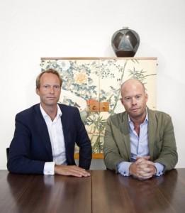 Pontus Silfverstolpe and Christopher Barnekow