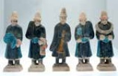 Ming Dynasty pottery figures