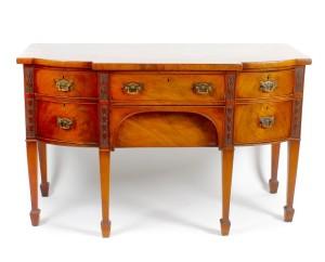 An early 19th century mahogany sideboard