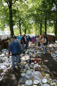 A French antique market