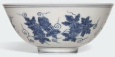 The rare Chenghua blue and white 'palace bowl'
