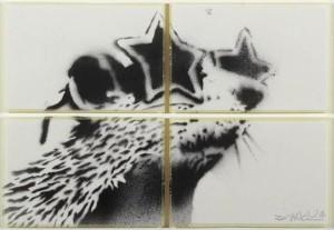 Banksy  'Rat'