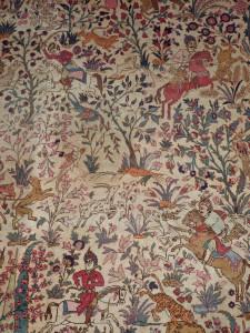 An early 20th century Tabriz style carpet