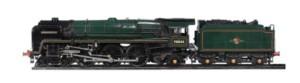 Model of Lord Rowallan locomotive