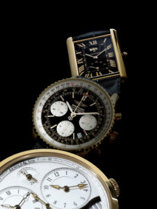 Arnold & Son, Breitling and Cartier
