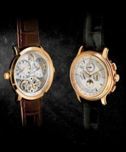 Arnold & Son and Zenith watches