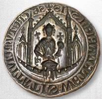 A 13th Century bronze coin